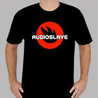 New Audioslave Alternative Rock Band Logo Men's Black T-Shirt Size S to 3XL image