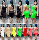 New Women Bandage Bodycon Evening Sexy Party Cocktail Clubwear Dress Plus Size