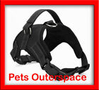 Dog Adjustable Safety Harness Strong Heavy Duty Vest Soft & Comfortable S M L XL