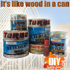 Turbo Builder's Bog Timber Wood Filler Repair Paintable 2 Part Painters Building