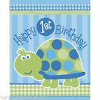 FIRST BIRTHDAY BOYS TURTLES PARTY / LOOT BAGS
