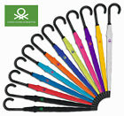 United Colors Of Benetton Umbrella Pink Blue Orange Red Lime Black Purple Grey