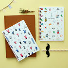 HIMORI Cactus_Paris RomanceTwin Ring Lined Notebook 2 Type  Ruled School Note