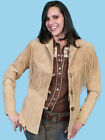 "Women's Scully Old Rust Fringe ""Designed To Flatter"" Western Style Jacket"