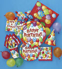 Birthday Party Tableware Decorations Balloon Design, Invites Banners & Loot Bags