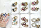 Choose Any Color Look Golden Bollywood Fashion Pearl Jhumka Earring Christmas131
