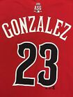 MLB National League Red Name and Number T-Shirt, All Mens Sizes, Choose Players