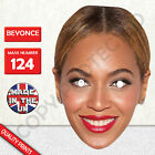 Beyonce Celebrity Card Mask - Fun For Stag&Hen Parties