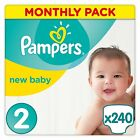 Pampers PREMIUM Protection Nappies MONTHLY SAVING Pack SIZE 0 1 2 3 4 4+ 5 6