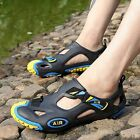 New Men's Summer Beach Shoes Slipper Fisherman Closed Toe Outdoor Sports Sandals