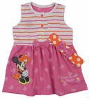 Baby Girls Minnie Mouse Sleeveless Dress and Headband Set NB To 18-24M