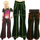 CYBER JEANS TROUSERS GOTH ALTERNATIVE FLARED BAGGY