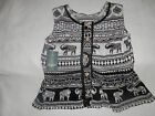 New With Tags-Lucky Brand Girls Dressy Shirt-Black/White-Sizes Med/Large/Xl-0530