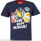 Boys Official Nickelodeon Paw Patrol T-Shirt Top BNWT Ages 3 4 5 6 years