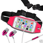 For Doogee DG150 Running Fitness Sports Waistband Case & Handsfree