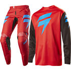 Shift 2017 NEW Mx WHIT3 Label Jersey Pants Ninety Seven Red Motocross Gear Set