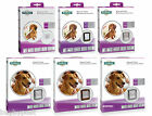 Staywell Dog Door & Flap Small Medium Large White Brown