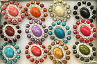 HUGE BLING RING UNSUAL MARBEL EFFECT GEMS CRYSTALS BOLLYWOOD DRAG QUEEN ADJUST