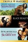 NATIONAL VELVET/BLACK BEAUTY/STORY OF SEABISCUIT(TRIPLE FEATURE DVD) LIKE NEW