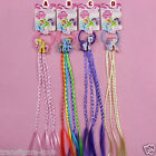 My Little Pony Girls Hair rope with colour hair pony tail Multiple AU stock new