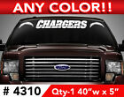"SAN DIEGO CHARGERS WINDSHIELD DECAL STICKER 40""x5"" ANY 1 COLOR $11.99 USD on eBay"