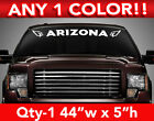 "ARIZONA CARDINALS ""Arizona"" w/Logos WINDSHIELD DECAL STICKER 44""w x 5""h on eBay"