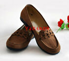 Women's Casual Walking Driving Slip-on Breathable Comfort Flat Loafer Shoes Gift