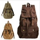 New Vintage Canvas Hiking Travel Backpacks rucksack school  Bag Bookbag knapsack