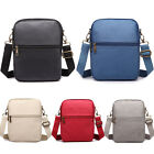 Unisex Canvas Shoulder Messenger Cross Body Chest Bag Passport Travel Holder