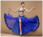 Внешний вид - NEW Belly Dance Costume Outfit Set Bra Belt Skirt Carnival Bollywood B&D CUP