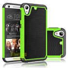 Hybrid Rugged Rubber Shockproof Hard Case Cover Skin For HTC Desire 626/626S