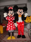 Fast ship+Good Price+Both Mickey and Minnie 2 Mascot Costume