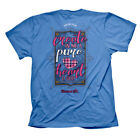 New Kerusso Cherished Girl Christian CREATE IN ME PURE HEART Womens T-Shirt