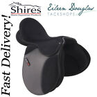 Shires Hi Lite Self Adjusting Horse Synthetic GP Saddle SIZE 16 17 or 18
