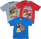 Boys Angry Birds T-shirts 5-6 up to 13-14 Years Different Styles Available