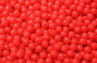 6mm Red Coloured Sea Fishing Beads - Sea Fishing Rig Lure Making Bead