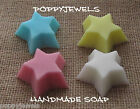 STARS MIXED FRAGRANCES BABY SHOWER/WEDDING /GIFT BAGS/ FAVOUR   SOAPS {10}