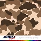 Mud USA Camouflage Military Graphics Vehicle Decal Vinyl Film Wrap Pattern