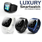 Luxury Wristwatch Bluetooth Smart Watch Pedometer For Android Samsung SONY LG