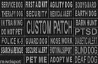 Внешний вид - Patch Reflective Label Tag for Dog Harness Vest Service Therapy Emotional