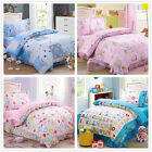 100% Cotton New Quilt Doona Cover Set Single Size Bed Duvet Covers Pillow Cases