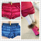 1322 Boutique 90% High Quality White Duck Down Winter Shorts High Fashion