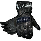 RST Blade Black Sports Touring Motorcycle Motorbike Bike Gloves | All Sizes