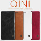 Nillkin Cover for Huawei P9 Lite Qin Series Premium Slim Faux Leather Flip Case