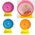 Plastic Silent Hamster Mouse Rat Mice Exercise Running Spinner Wheel Pet Toy OU