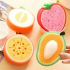 Creative Fruit Cleaning Cloth Sponge 4 Pattern Choice Funny Kitchen Tools