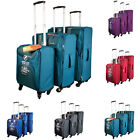 NEW EVEREST SET OF 3 SUPER-LIGHT SUITCASES FOR HOLIDAY, TRAVELING, TRIP