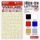 Inkviva Iron On 3D Letters Heat Transfer Label Name Appliqué -Half Inch -12mm