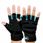 Wrist Wrap Sports Weight Lifting Workout Gym Exercise Training Fitness Gloves
