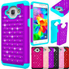 For Samsung Galaxy On5 G550 Phone Case Hybrid Shockproof Crystal Rugged Cover